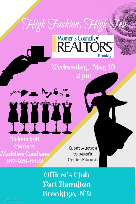 High Fashion, High Tea - Wednesday, May 10, 2017-  2pm