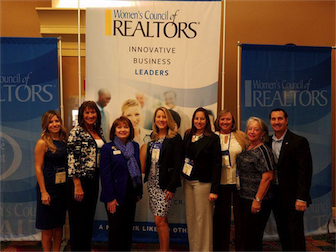 WCR Leadership Representatives at NAR Convention