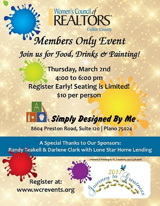 Members Only PAINT Party