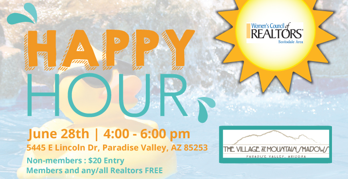 June 28th Happy Hour | 4-6pm