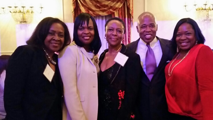 March 2015 WCR Members Meet Brooklyn Borough President Eric Adams