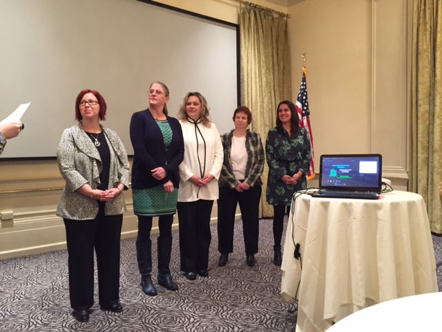 Installation of our 2016 Greater Porltand Area Chapter governing board