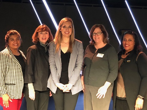Sasha Farmer with State and Local Women's Council Leadership 2018