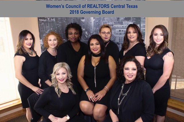 WCR Central Texas, 2018 Governing Board