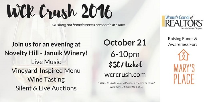 WCR Crush 2016: Crushing out Homelessness one Bottle at a Time