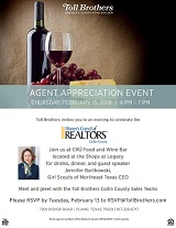 Toll Bros. REALTOR Appreciation