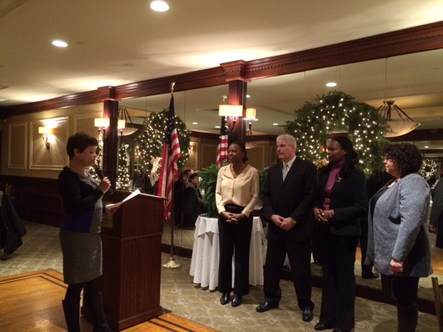 Jan 2015 officer istallation by NYS Past President Catherine Favara