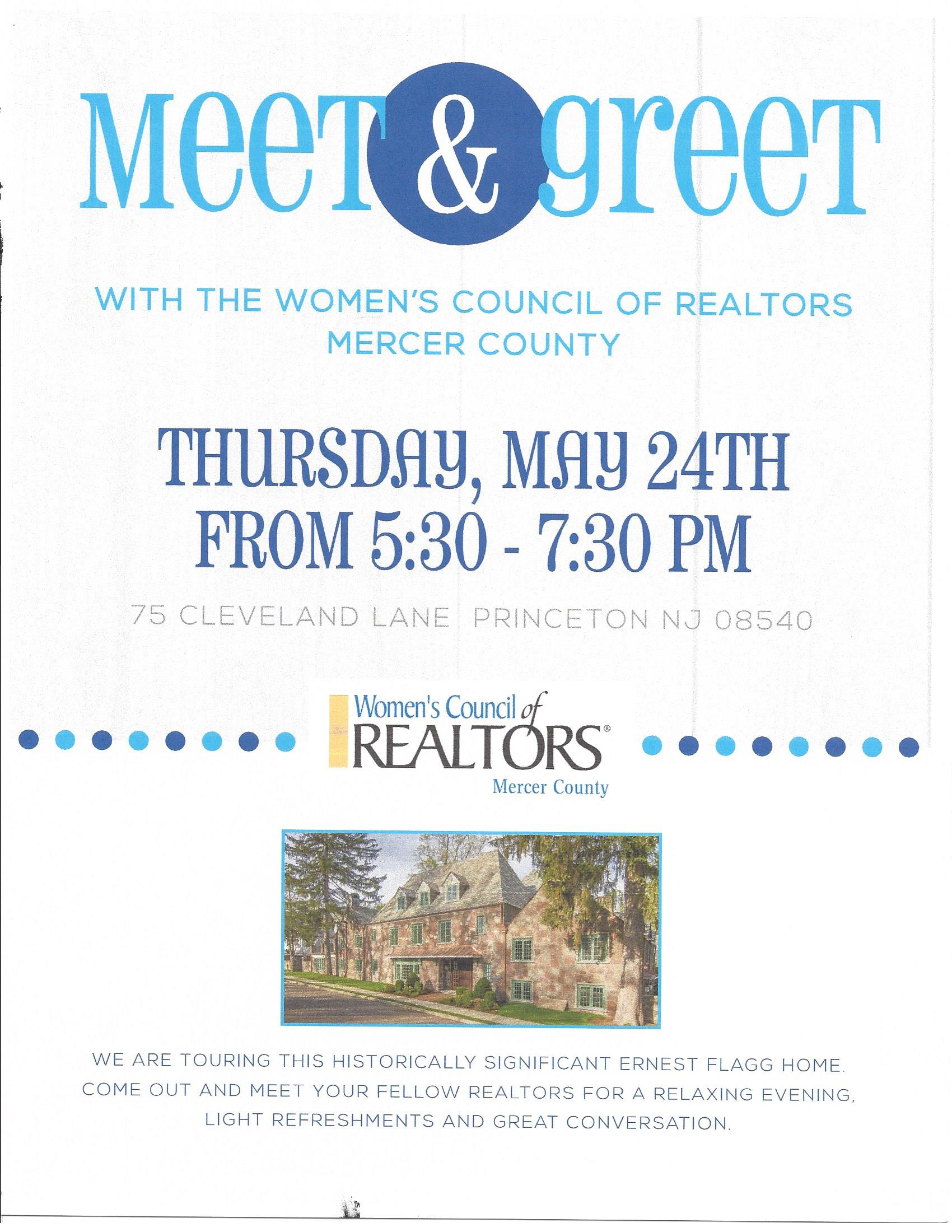 Womens Council Of Realtors Mercer County Tour Historic Home