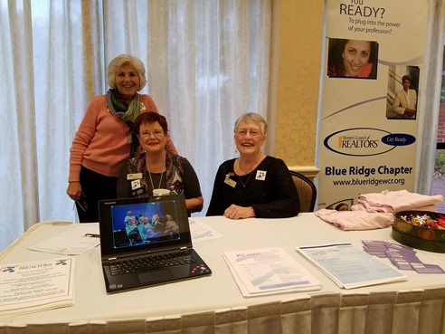 CAAR Trade Show Arleen Yobs, Tele Jenifer and Kathy Markwood