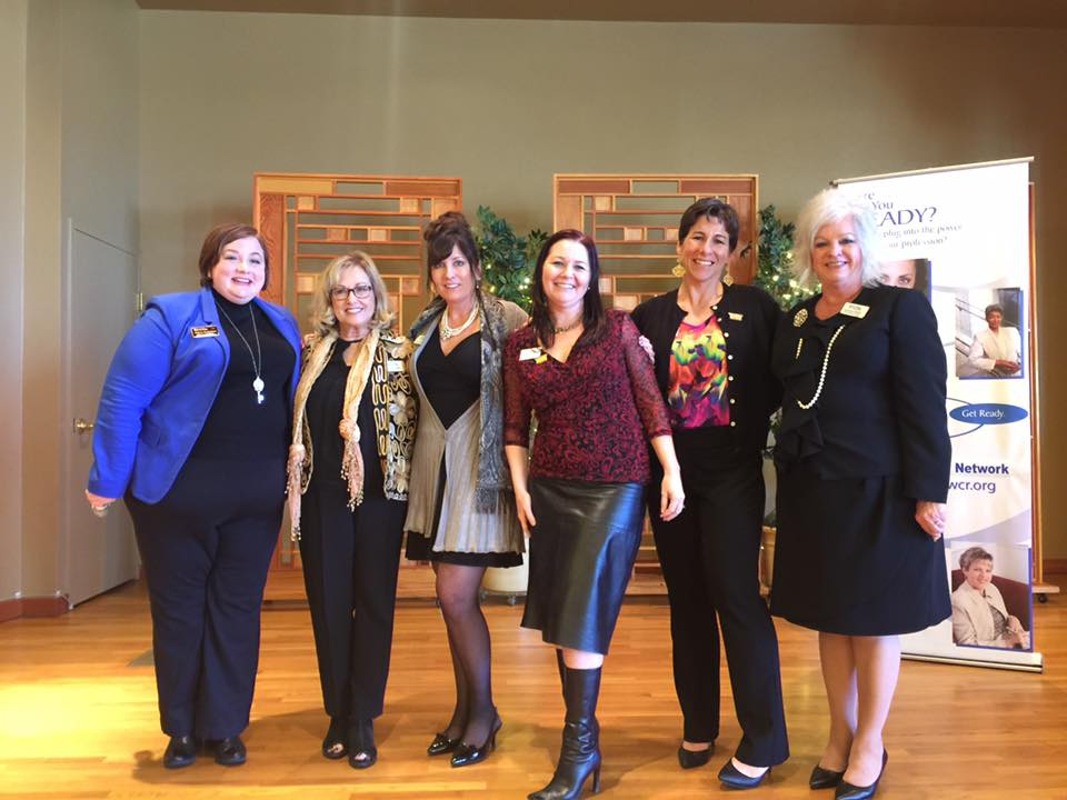 2016 National President Melissa Zimbelman and 2017 Placer WCR Leadership Team