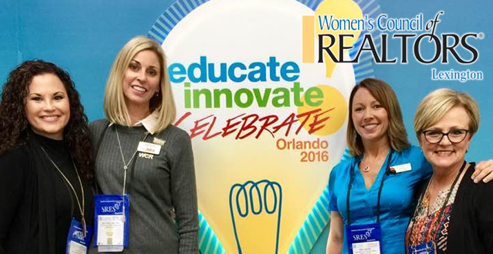 WCRLEX Members at the Education, Innovate, Celebrate NAR Expo in Orlando!