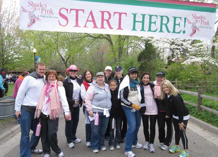 Walking For The Cure!