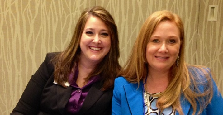 Kara Neely-Goble and Leah Cox at WCR/NAR Realtor Party Convention