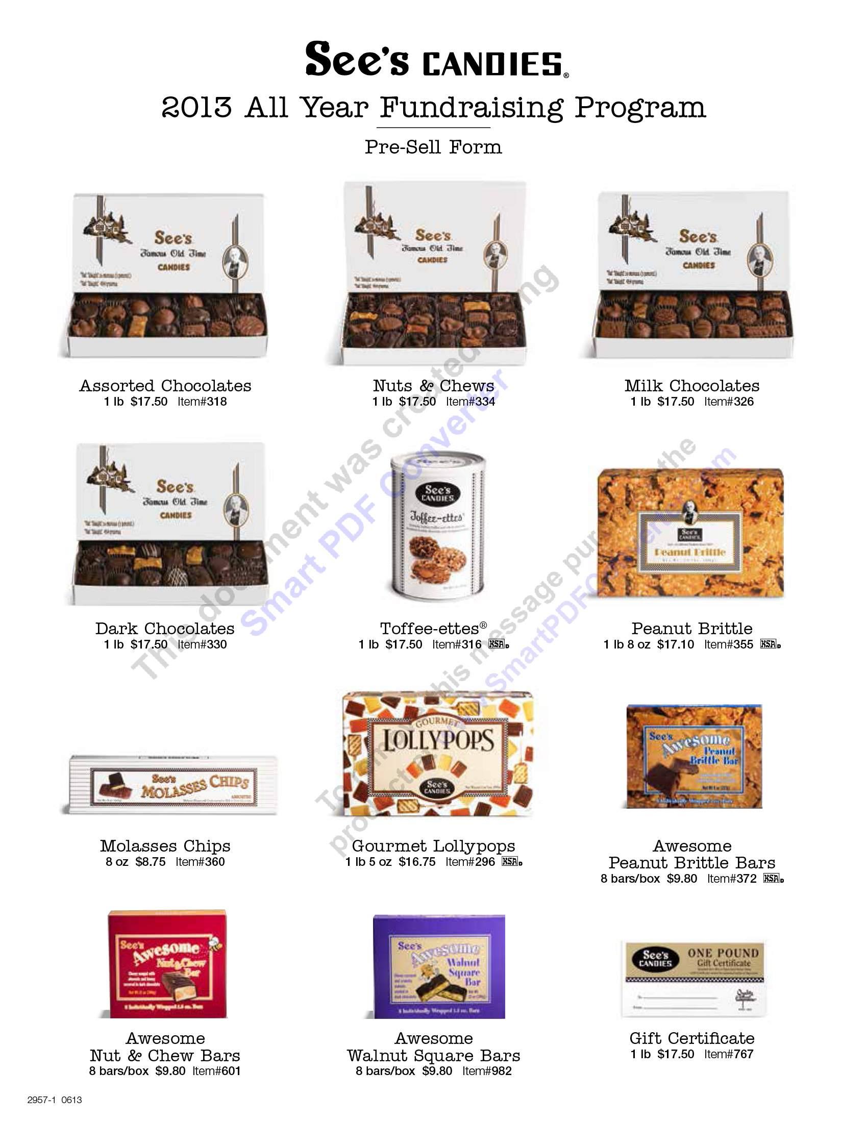 Women's Council of Realtors- Washington County - See's Chocolate ...