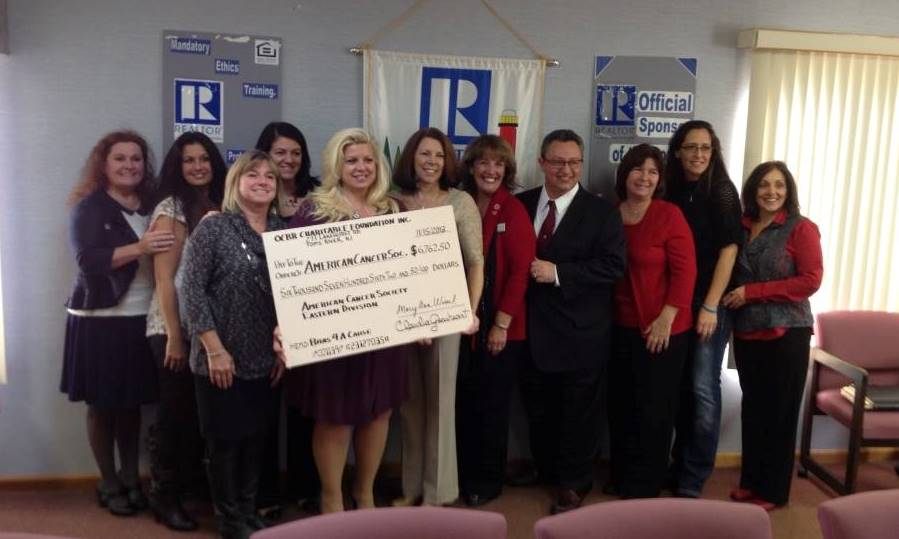Check Presentation to American Cancer Society