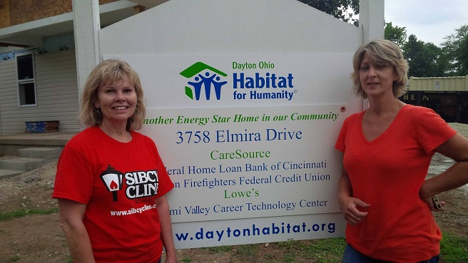 Women Build for Habitat for Humanity House