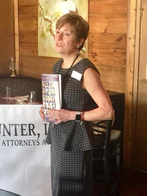 2018 Presenting Partner, Deb Kalish with Lueder Larkin & Hunter