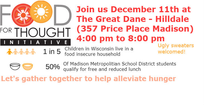 Food Drive to Benefit Thea's Table