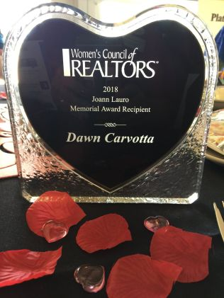 2018 Joann Lauro Memorial Award goes to Dawn Carvotta