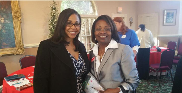 Sharon Ponder, (R) VP of Finance of the Bennett Group & Member, Henry County Board, Updated the Members on the Jodeco Atlantic Station Progress & What's New in the County. June Wood, Candidate for HC Chair, BOD of Commissioners, also spoke.