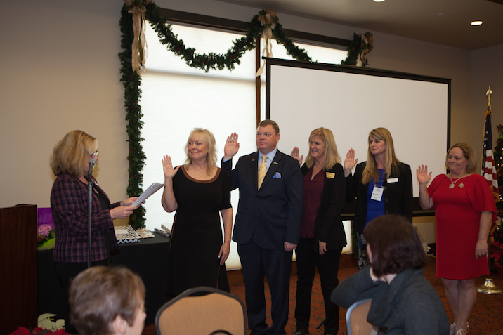 2016 WCR SOC Board Swearing in