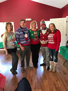 Ugly Sweater Contest @ Annual Holiday Party