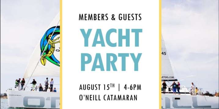 Members & Guests Yacht Party